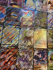 Pokemon Card Lot 10 Official Tcg Cards Ultra Rare Included - Gx Ex V Vmax