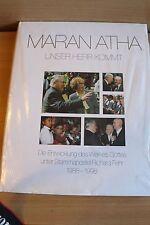 Maranatha unser Herr kommt NAK unter Stammapostel Richard Fehr 1988-1998 OVP NEU
