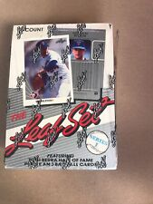 New listing 1990 LEAF BASEBALL SERIES 1 BOX SEALED KEN GRIFFEY SAMMY SOSA RC 36 PACKS NEW