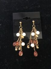 """Toned Earrings $22 (Dc) Premier Designs """"Toffee Delight"""" Gold"""
