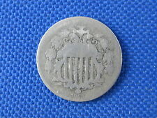 1867 U.S 5 CENT SHIELD NICKEL COIN