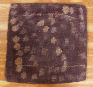 2x3 ft Indien Handmade Wool Area Rugs Hand Knotted Tufted Carpet