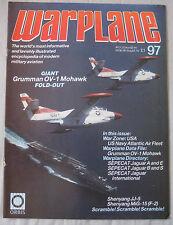 Warplane Issue 97 Grumman OV-1 Mohawk Cutaway drawing & poster