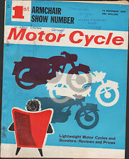 THE MOTORCYCLE LIGHTWEIGHTS COVER 14 NOV 1963