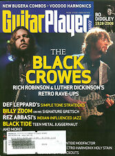 Guitar Player Mag Aug 2008 - Bo Diddley - Black Crowes - Billy Zoom