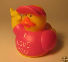New Rubber Duck I love you Stocking Filler Secret Santa