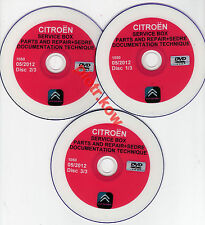 CITROEN SERVICE BOX+SEDRE 2012-EPC+TIS+WDS-FULL VERSION-NEW...
