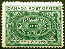 Canada #E1 10c Blue Green 1898 Special Delivery *MNH*
