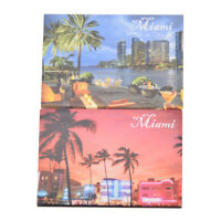 Miami Fridge Magnet Decor Refrigerator Magnetic Sticker Travel Souvenir Gift