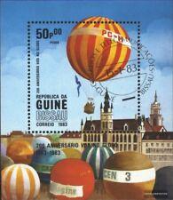 Guinea-Bissau Bloque 247 (edición completa) usado 1983 200 años aviación