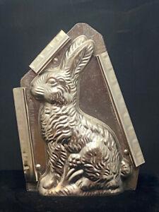 Vintage Chocolate Mold Large Sitting Easter Bunny Rabbit