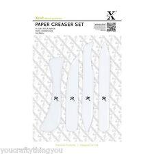 Xcut Plastique Os dossier papier Creaser Set x 4 pcs | Livre Pliable notation | B45