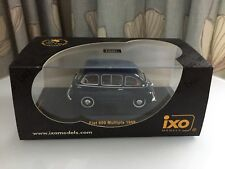 IXO Models - CL C036 - Fiat 600 Multipla (1958) - Dark Blue - 1:43