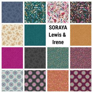 100% cotton Soraya Richly coloured Peacocks Elephants Paisley - Lewis & Irene