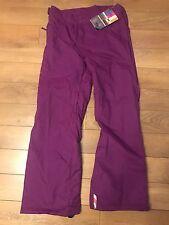 Womens Billabong Ul Violet Snowboard Ski Pants Trousers Bottoms Salopettes Large