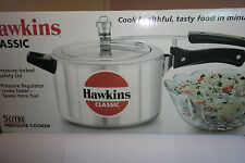 HAWKINS CLASSIC RANGE -PRESSURE COOKERS  5 LITRES  - TOP QUALITY