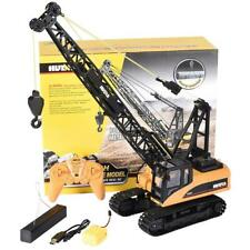 HUINA 1/14 RC CRAWLER CRANE 2.4g 15Ch w/Hook Remote Control Construction Vehicle