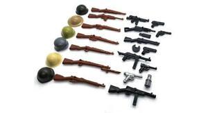 BrickArms World War 2 Minifigure Weapons Pack