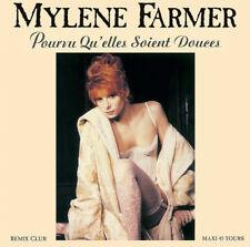 """Mylène Farmer 12"""" Pourvu Qu'elles Soient Douces - Tirage limité, réédition 2018"""