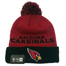 ARIZONA CARDINALS NEW ERA Winter Fresh Pom Knit Beanie Cuff Skull Cap