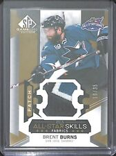2015-16 Upper Deck SP Game Used Patch #AS-37 Brent Burns No 10 of 35