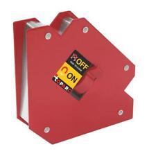 2x MAGNET SCHWEIßMAGNET SCHWEISSEN ECKMAGNET WINKEL LÖT Welding Magnet 100 mm