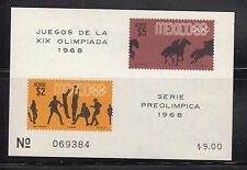 Mexico 1968 Air Olympics MS  Sc C338a   mint never hinged