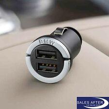 Original BMW Dual USB Ladegerät Ladeadapter Charger für Zigarettenanzünder NEU