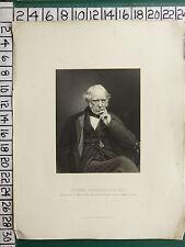 C1860 antico stampa ~ William FAIRBAIRN