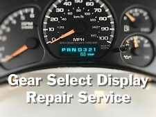 99-02 Chevy Truck / SUV Instrument Gauge Cluster Display REPAIR SERVICE