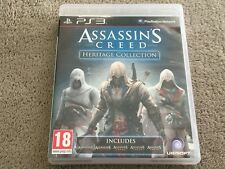 Assassins Creed Heritage Collection PS3 Game - 1, 2, 3, Brotherhood Revelations