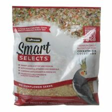 LM ZuPreem Smart Selects Bird Food for Medium Birds  2.5 lbs