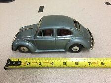 Vintage VW Volkswagen Tin Friction Toy Car - Beetle Bug - Bandai Japan