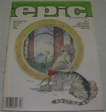 EPIC ILLUSTRATED #28 (Marvel Comics 1985) GALACTUS by Byrne (VF) CEREBUS