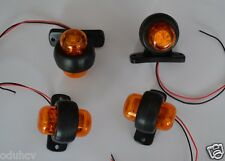 4 PCS RECOVERY SIDE MARKER OUTLINE LED LIGHTS LAMPS 12 VOLT TRAILER TRUCK LORRY