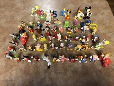"Lot Of 60 Misc Disney Toys/Action Figures~2""-3""~1980's 1990's~GUC"