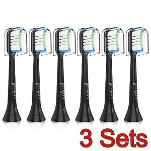 6x 8x Lot Compatible for Philips Sonicare Toothbrush Head Brushhead Replacement