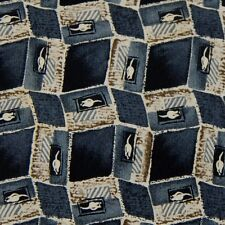 Van Heusen Grey Beige 3D Geometric Silk Men Tie Necktie Ties Z2-50