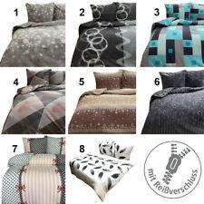 Winter Bettwäsche in 6 Größen Thermo Fleece Bettbezug Deckenbezug Garnitur Set