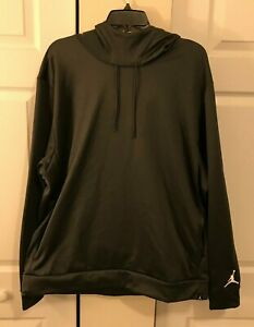 Nike Air Jordan Mens 2XL XXL Therma Fit Long Sleeve Hoodie Gray New AV1836-072