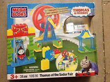 Mega bloks Thomas at the sodor fair  10516 brand new sealed set
