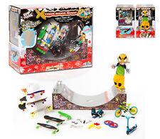 GIFT CADEAU 6/14 yrs - Big box full Finger Skates Rollers BMX Scoot Halfpipe