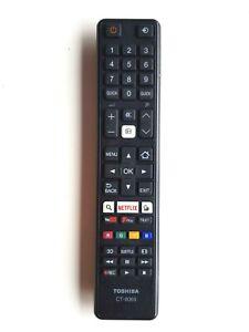 Genuine Toshiba CT-8069 CT8069 3D NETFLIX Freeview Remote 32D3653DB 40L3653DB