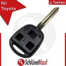 Toyota 3 Tasten Autoschlüssel Gehäuse Fernbedienung Carina Ceclica Camry Lexus