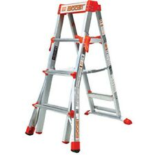 4'-6' Adjustable Step Ladder Work Construction Restaurant Warehouse C1006177