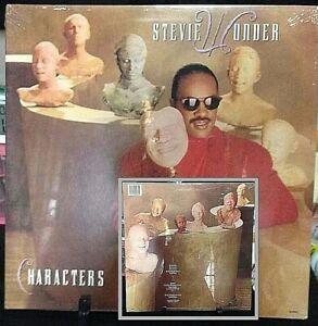 STEVIE WONDER Characters SEALED/BRAND NEW Album Released 1987 Record/Vinyl USA