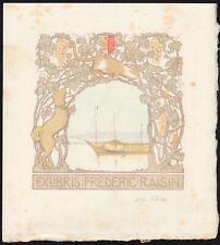 31)Nr.148- EXLIBRIS- Alfred Peter - 1910