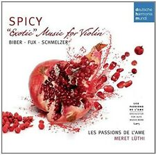 Passions De L'Ame - Spicy: Exotic Music for Violin By Biber [New CD] Germany - I