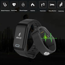 IP67 Waterproof Blood Pressure/Heart Rate Monitor Smart Watch Fitness Tracker UK