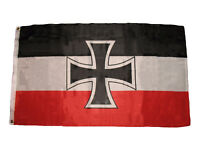 3x5 German Germany Jack Iron Cross 1871-1918 World War 1 Flag 3'x5' Banner